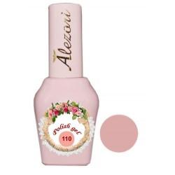 Alezori Gel polish №110 15ml. ΜΠΕΖ ΡΟΖ NUDE. Ημιμόνιμο βερνίκι.