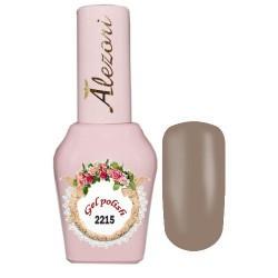 Ημιμόνιμο βερνίκι Alezori Gel polish №2215 Εκρού Ανοιχτό 15ml