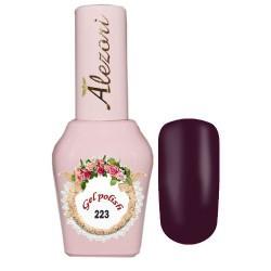 Ημιμόνιμο βερνίκι Alezori Gel polish №223 Μελιτζανί Shimmer 15ml