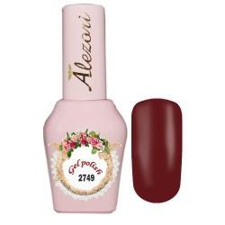 Ημιμόνιμο βερνίκι Alezori Gel polish №2749 Κόκκινο Κερασί 15ml