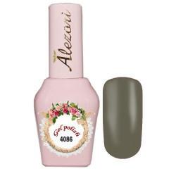 Ημιμόνιμο βερνίκι Alezori Gel polish №4086 Χακί Ανοιχτό 15ml