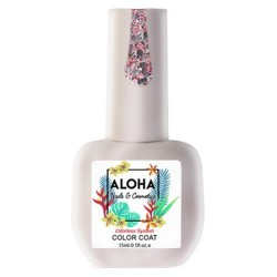 ALOHA FR 164 PINK GLITTER WITH PAILLETTES 15ml