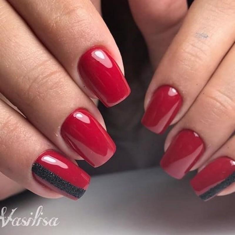 Ημιμόνιμο Βερνίκι Νυχιών - Μανό Aloha AF216 Ruby Red 15ml
