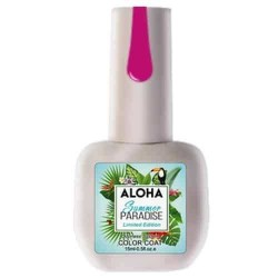 Ημιμόνιμο βερνίκι Aloha 15ml – Χρώμα SP 30 (Δαμασκηνί φουξ)