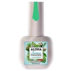 Ημιμόνιμο βερνίκι Aloha 15ml – Χρώμα SP 44 (Πράσινο ανοιχτό του αχλαδιού)