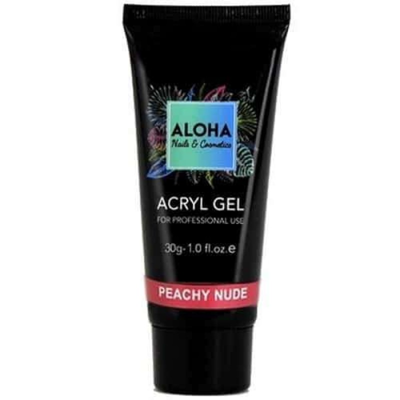 Aloha Acrylgel Peachy Nude (Φυσικό ροδακινί) 30gr
