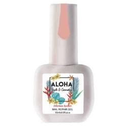 Θεραπεία Ημιμόνιμου Με Πρωτεΐνες & Χρώμα Aloha Nail Repair Gel Cover Pink 15ml
