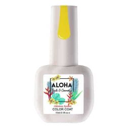 Ημιμόνιμο βερνίκι Aloha 15ml – Χρώμα: FR 219 (Antique Moss Yellow / Κίτρινο χρυσό απαλό)