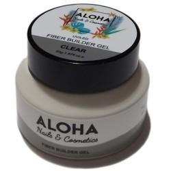 Gel Xτισίματος Aloha Fiber Builder Gel Clear (Διάφανο) 50gr