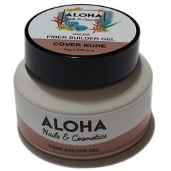 Gel Xτισίματος Aloha Fiber Builder Gel Cover Nude (Nude Καμουφλάζ) 50gr