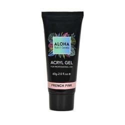 Aloha Acrylgel French Pink (Ροζ βάση γαλλικού) 60gr
