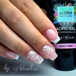 Aloha Acrylgel Light Pink (Ροζ απαλό) 60gr