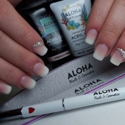 Aloha Acrylgel Milky White (Γαλακτερό) 60gr