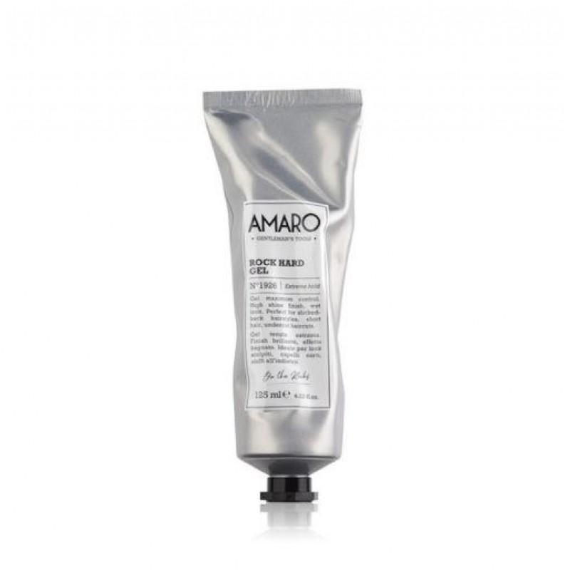 Gel Styling Για Τα Μαλλιά Amaro Rock Hard Gel 125ml