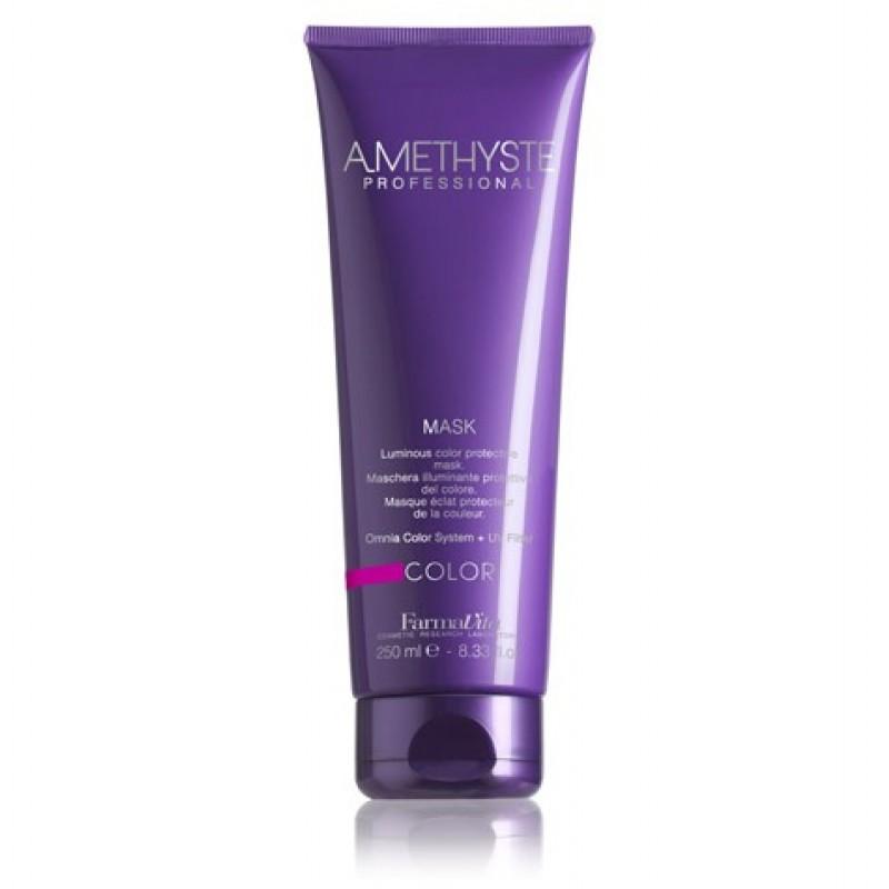 Μάσκα Λάμψης Και Προστασίας Χρώματος Για Βαμμένα Μαλλιά Amethyste Color Mask 250ml