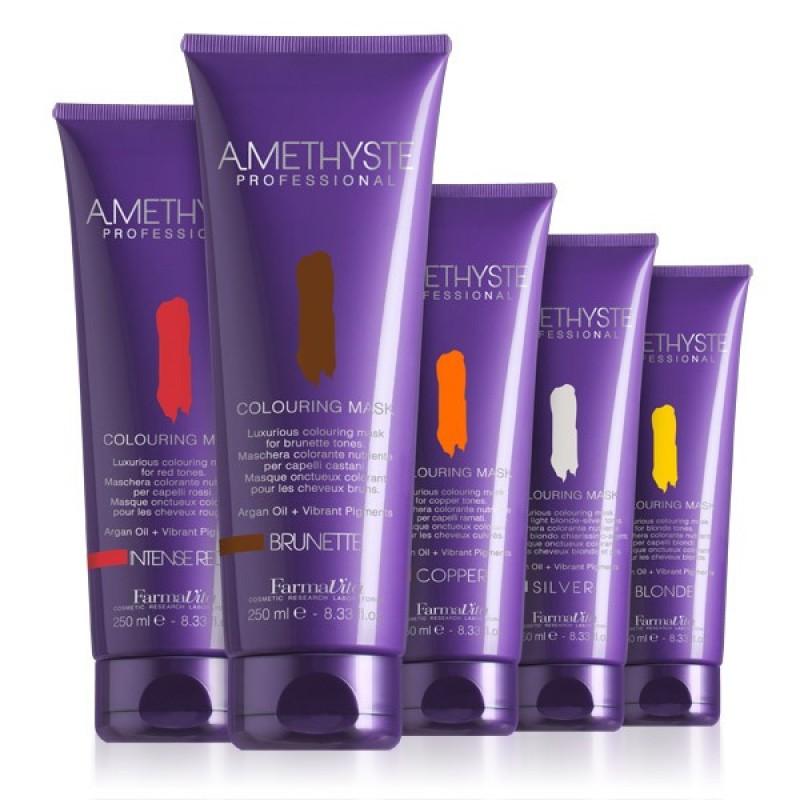Μάσκες Για Βαμμένα Μαλλιά Amethyste Colouring Mask 250ml