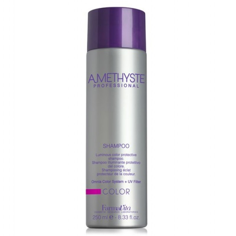 Σαμπουάν Λάμψης Και Προστασίας Χρώματος Για Βαμμένα Μαλλιά Amethyste Color Shampoo 250ml