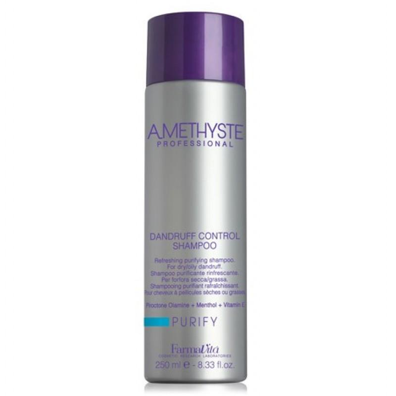 Αναζωογονητικό Σαμπουάν Κατά Της Πιτυρίδας Amethyste Purify Shampoo 250ml