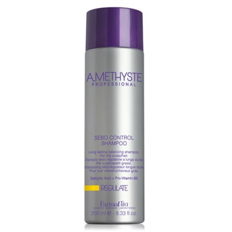 Σαμπουάν Εξισορρόπησης Για Λιπαρό Τριχωτό Της Κεφαλής Amethyste Regulate Shampoo 250ml