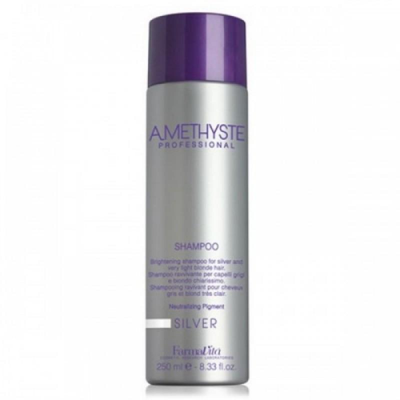 Σαμπουάν Για Γκρίζα Και Πολύ Ξανθά Μαλλιά Amethyste Silver Shampoo 250ml
