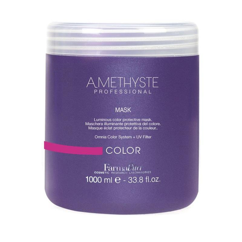 Μάσκα Λάμψης Και Προστασίας Χρώματος Για Βαμμένα Μαλλιά Amethyste Color Mask 1lt