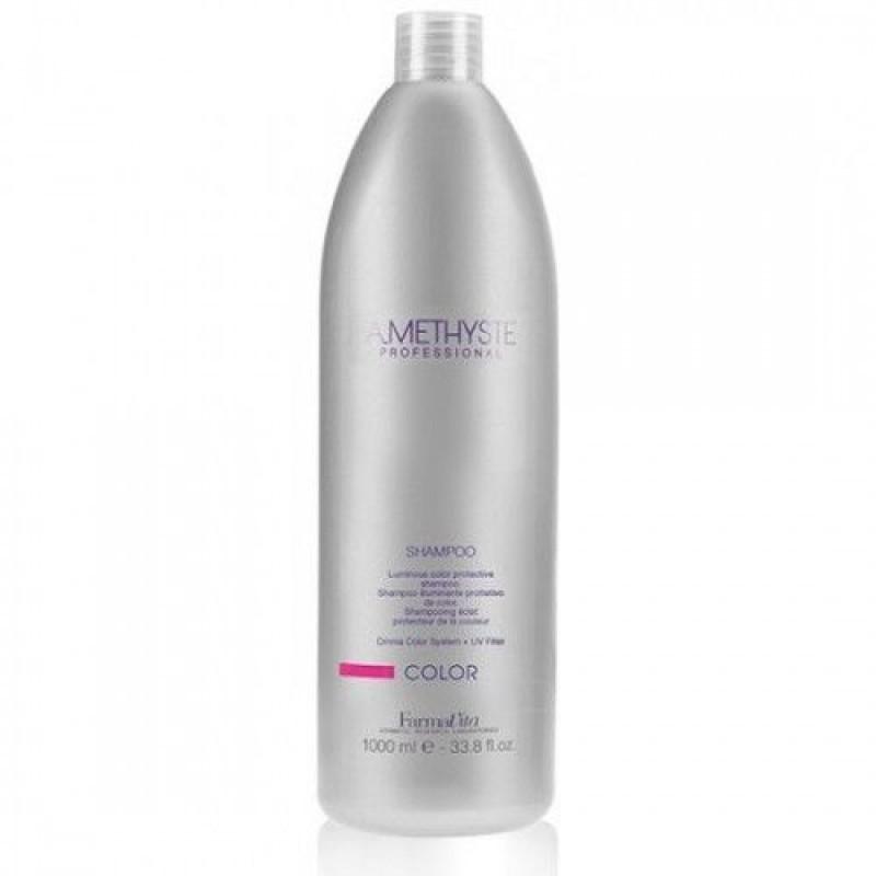Σαμπουάν Λάμψης Και Προστασίας Χρώματος Για Βαμμένα Μαλλιά Amethyste Color Shampoo 1lt