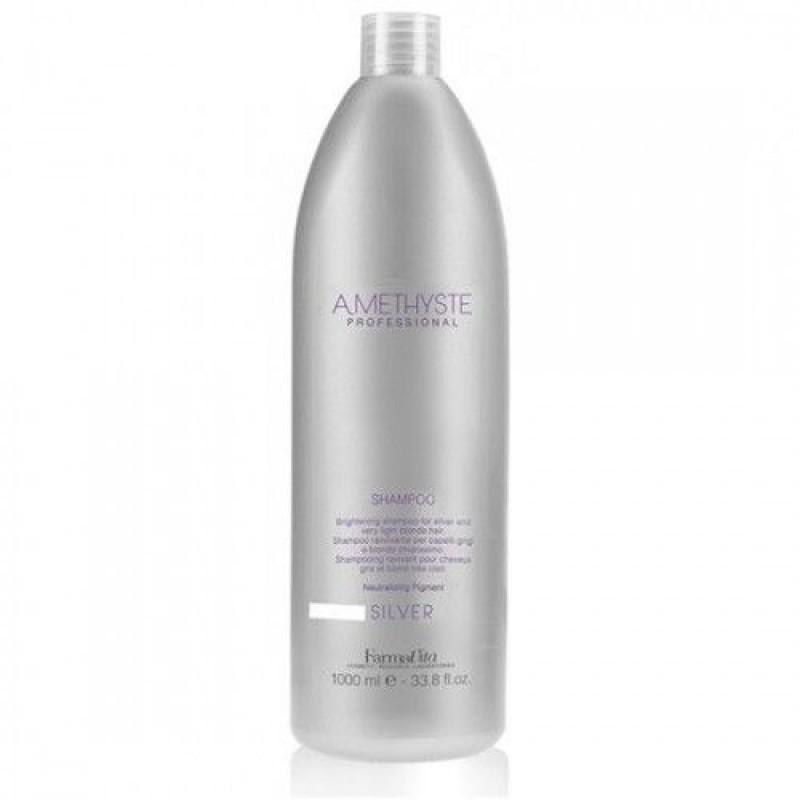 Σαμπουάν Για Γκρίζα Και Πολύ Ξανθά Μαλλιά Amethyste Silver Shampoo 1lt