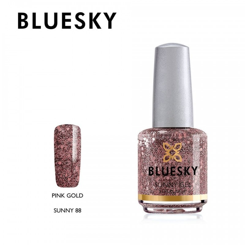 BLUESKY SUNNY GEL 88 PINK GOLD 15ml