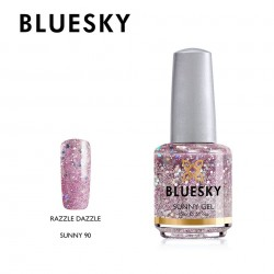 BLUESKY SUNNY GEL 90 RAZZLE DAZZLE 15ml