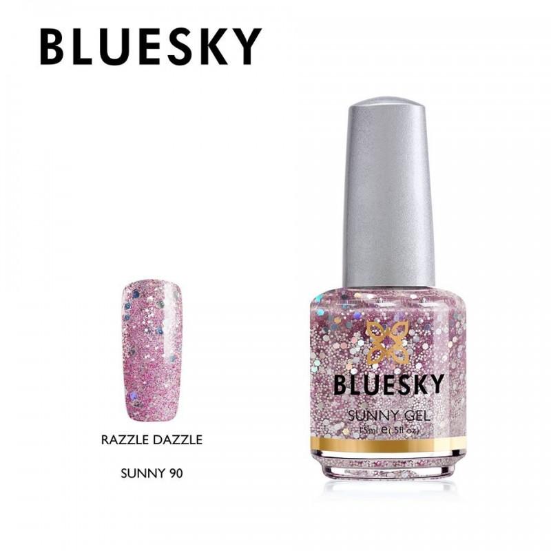 BLUESKY SUNNY GEL 90 RAZZLE DAZZLE 15ml