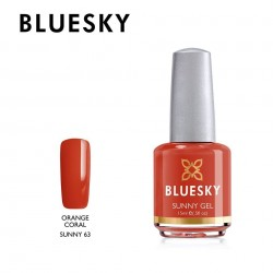 BLUESKY SUNNY GEL 63 ORANGE CORAL 15ml