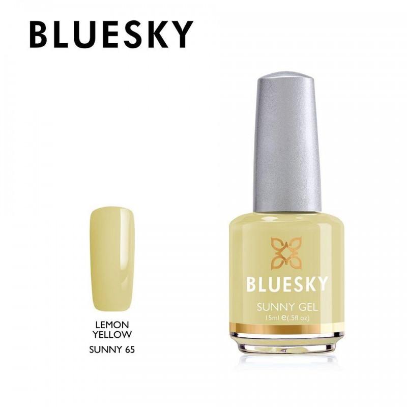 BLUESKY SUNNY GEL 65 LEMON YELLOW 15ml