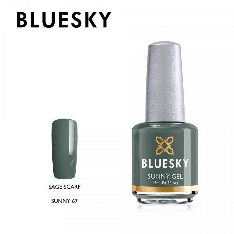 BLUESKY SUNNY GEL 67 SAGE SCARF 15ml