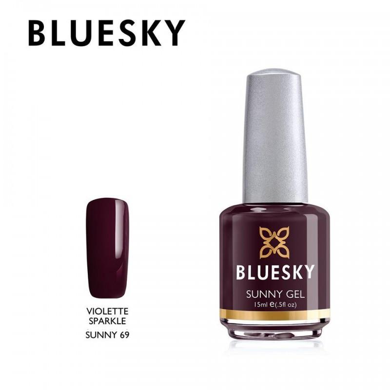 BLUESKY SUNNY GEL 69 VIOLETTE SPARKLE 15ml