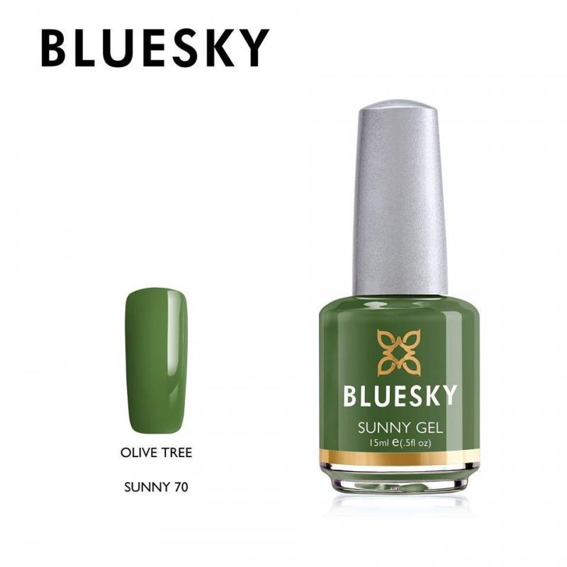 BLUESKY SUNNY GEL 70 OLIVE TREE 15ml