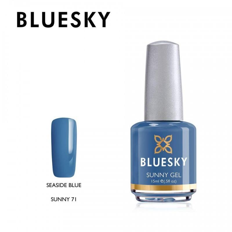 BLUESKY SUNNY GEL 71 SEASIDE BLUE 15ml