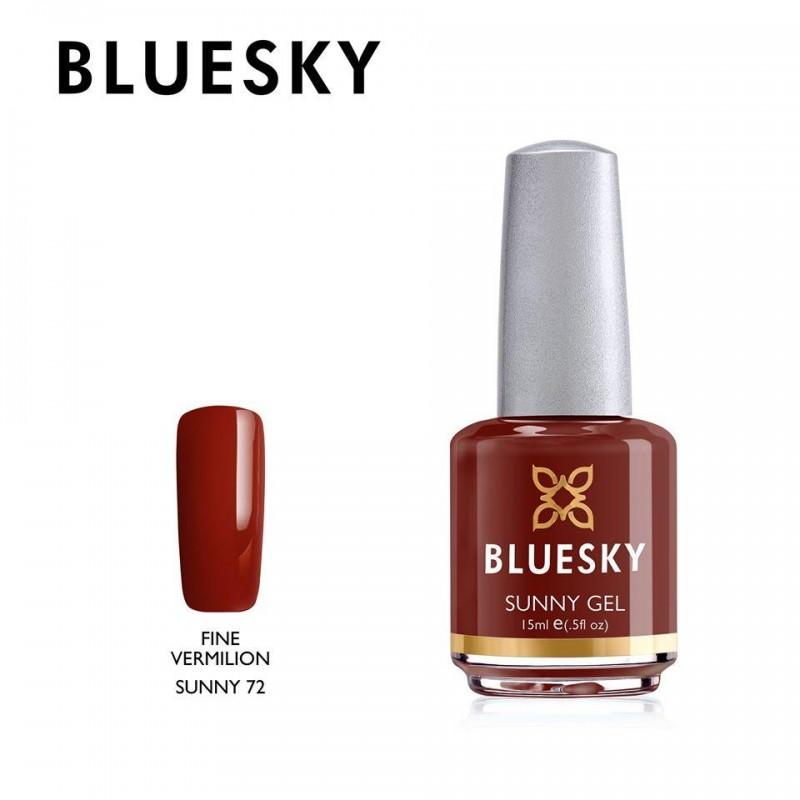 BLUESKY SUNNY GEL 72 FINE VERMILION 15ml