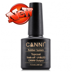 CANNI TOP COAT RUBBER 7.3ml