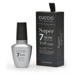 Γυαλιστικό 7 Δευτερολέπτων Cuccio Reactive Top Coat 13ml