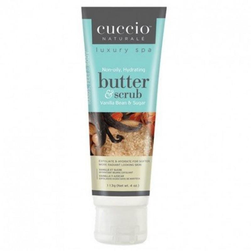 Cuccio Butter Scrub Βανίλια 113ml
