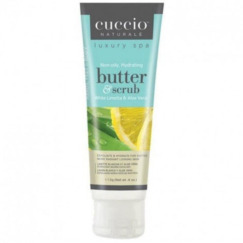 Cuccio Butter Scrub Αλόη & Λάιμ 113ml