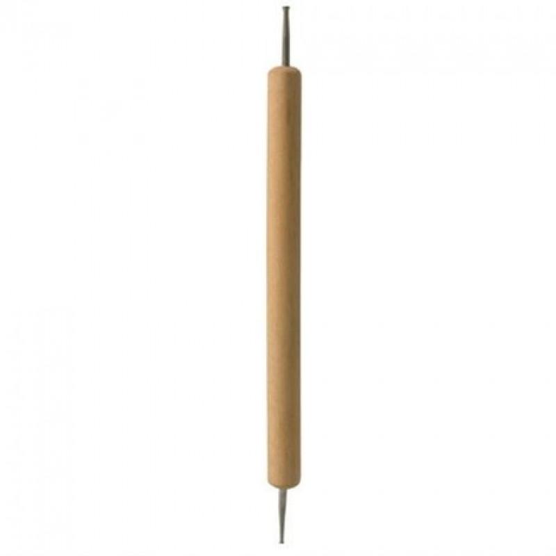 Cuccio Εργαλείο Με Ξύλινη Λαβή Για Nail Art Dotting Tool
