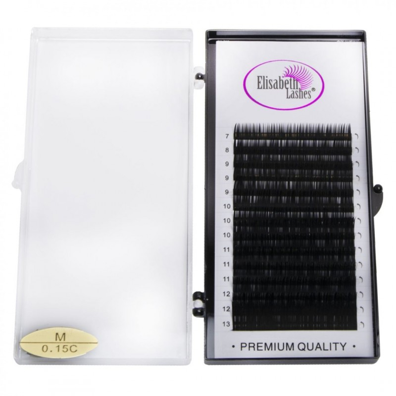 """""""Breeze"""" One by One Extensions Mix Elisabeth Lashes"""