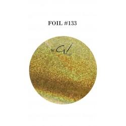 GEL IT UP FOIL 133 GOLD GLITTER