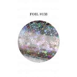 GEL IT UP FOIL 138 SILVER CIRCULAR