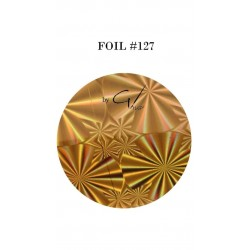 GEL IT UP FOIL 127 GOLD RAINBOW DIAMOND