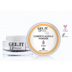 GEL IT UP COMPETE ACRYLIC POWDER ΡΟΖ 20gr