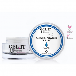 GEL IT UP CLASSIC ACRYLIC POWDER ΔΙΑΦΑΝΗΣ 20gr