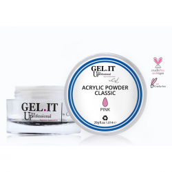 GEL IT UP CLASSIC ACRYLIC POWDER ΡΟΖ 20gr