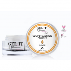 GEL IT UP COMPETE ACRYLIC POWDER COVER SALMON 20gr